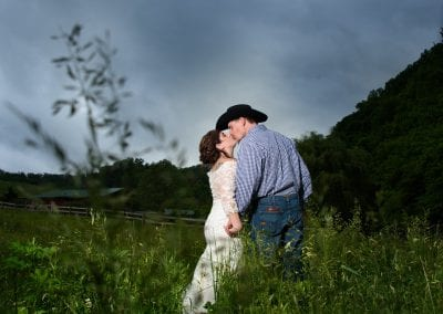 Country Style Wedding Honeysuckle Hills Pigeon Forge