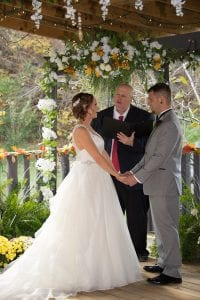 Covered Pavilion Wedding Pigeon Forge