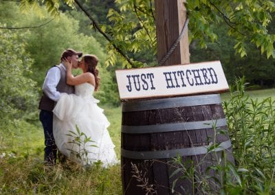 Just Hitched at Honeysuckle Hills