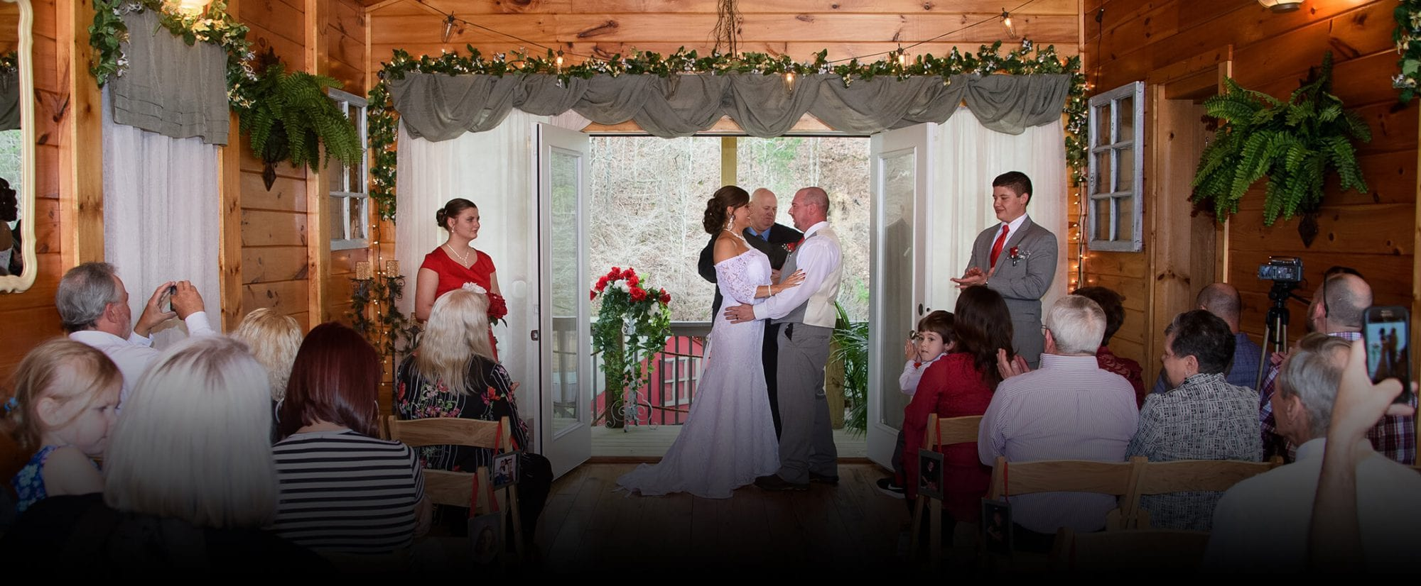 The Traditional Wedding Chapel wedding ceremony site in Pigeon Forge, TN